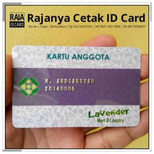 cetak kartu anggota