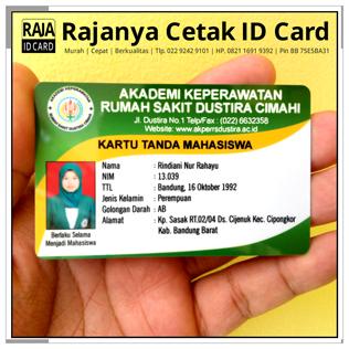 cetak kartu mahasiswa