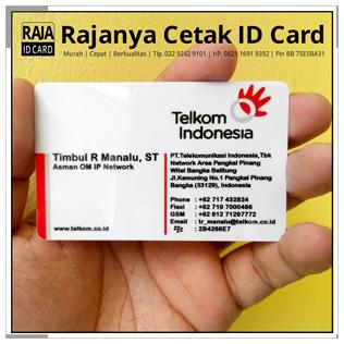 cetak kartu nama plastik biasa