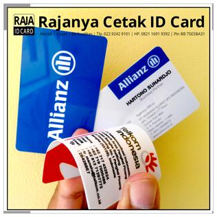 cetak kartu nama plastik id card
